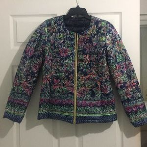 Lilly Pulitzer Jackets & Coats - Lilly Pulitzer Reversible Puffer Jacket